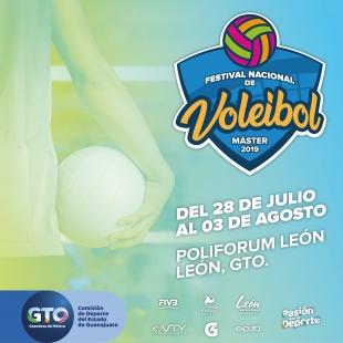 FESTIVAL NACIONAL DE VOLEIBOL MASTER 2019