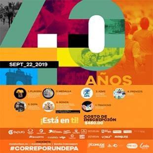 40 ANIVERSARIO DEL MARATÓN LEÓN 2019