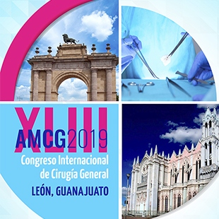 XLIII CONGRESO INTERNACIONAL DEL  CIRUGÍA GENERAL 2019