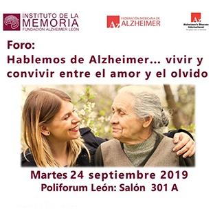 FORO: HABLEMOS DE ALZHEIMER... VIVIR Y CONVIVIR ENTRE EL AMOR Y EL OLVIDO