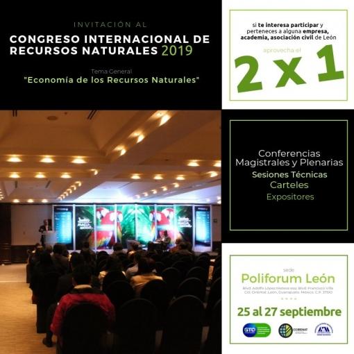 """Congreso Internacional de Recursos Naturales 2019 - """"Por el Derecho Universal a un Medioambiente Sano"""""""