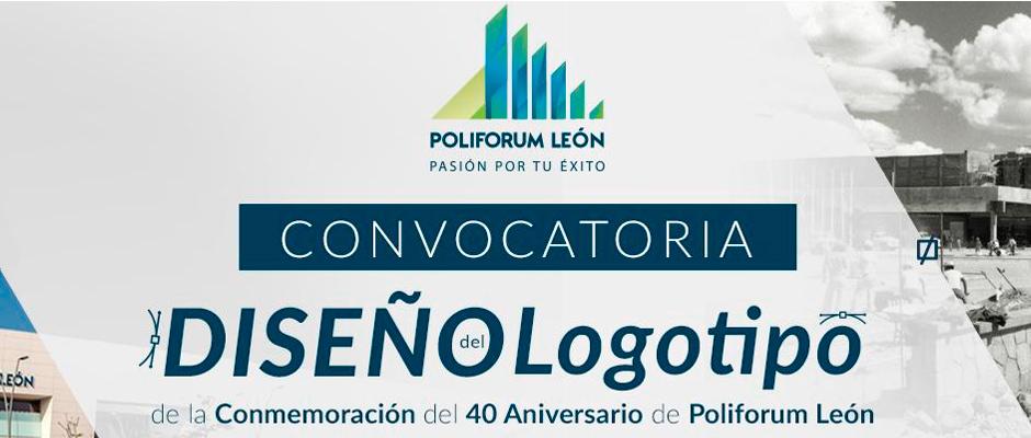 RESULTADOS DE LA CONVOCATORIA DEL CONCURSO PARA EL DISEÑO DEL LOGOTIPO DE LA CONMEMORACIÓN DEL 40 ANIVERSARIO DE POLIFORUM LEÓN