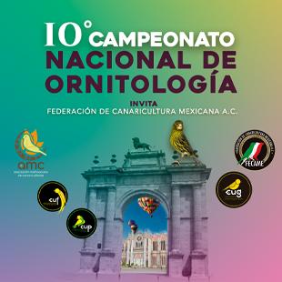 Décimo Campeonato Nacional de Ornitología