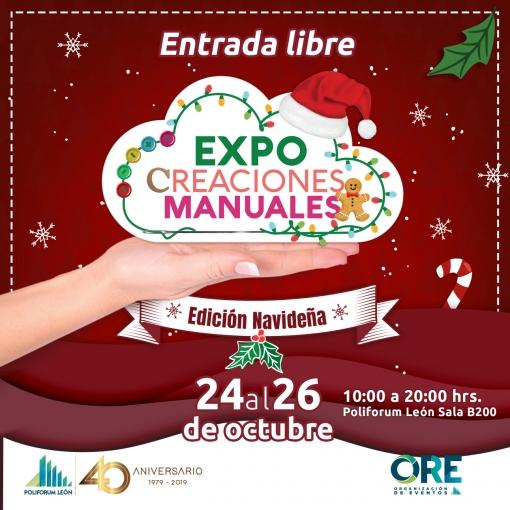 Expo Creaciones Manuales Navideñas